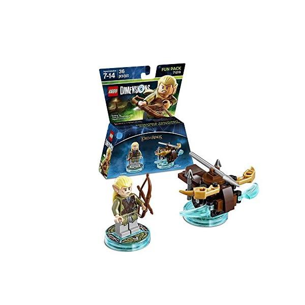 Warner - EGO Dimensions Fun Pack: SDLA Legolas 2