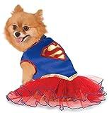 Offizielles Rubie 's DC Comics Supergirl Pet Hund Kostüm Tutu Kleid
