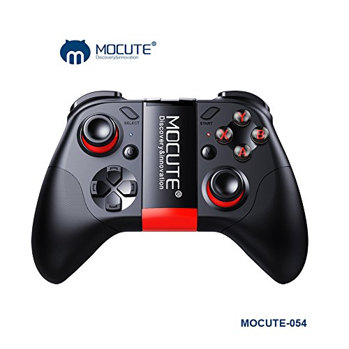 docooler mocute 054 Bluetooth Game Console Fernbedienung Gamepad Joystick Android Mini Notebook Wireless Bluetooth Controller für iPhone IOS Android Smartphone Tablet PC (Remote-start Iphone)