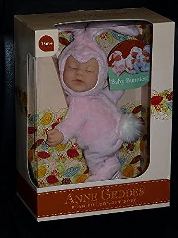 Anne Geddes Bébé - Anne Geddes Pink Baby Bunny Rabbit /