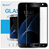 Bywin 3D Incurvé Protection écran en TPU pour Samsung Galaxy S7 (Black) Ultra-mince 0.2 mm Meilleur Film Protégé en Plastique de (Not Tempered Glass Screen Protector) (non vitre verre trempé )
