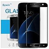 Bywin 3D Incurvé Protection écran en TPU pour Samsung Galaxy S7 (Black) Ultra-mince 0.2 mm Meilleur Film Protégé en Plastique de (Not Tempered Glass Screen Protector) (non vitre verre trempé )