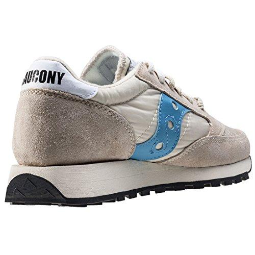 Saucony Beige/Sky Blau Jazz Original Vintage Sneakers Beige/Sky Blau