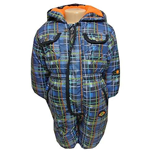 Outburst - Schneeoverall Schneeanzug Baby Jungen Fleecefutter wasserabweisend, dunkelblau - 80dunkelblau