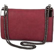 05d2e3bdc2188 Suchergebnis auf Amazon.de für  bordeaux rote handtasche