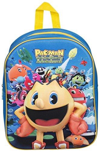 pacman-pac-man-eva-3d-junior-backpack-rucksack-school-nursery-travel-childrens-back-pack