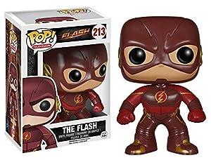 Funko Pop! TV: The Flash - The Flash Figuras coleccionables - FiFiguras de acción y colleccionables (Figuras coleccionables,, Series de TV y Cine, Pop! TV: The Flash, Vinilo, 14 año(s))