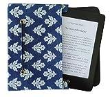 Jaipur Classic [JC] Cotton/Paper Kindle Case Cover Pouch,