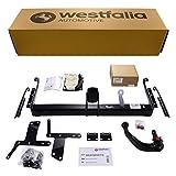 Abnehmbare Westfalia Anhängerkupplung für Corolla Verso (BJ 04/2004-12/2009) im Set mit 13-poligem fahrzeugspezifischen Westfalia Elektrosatz
