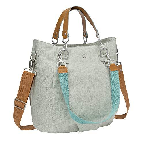 Lässig Wickeltasche Green Label Mix'n Match Bag mit mehreren verstellbaren Schultergurten inkl. Wickelzubehör, light grey - 4