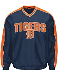 "Detroit Tigers MLB G-III ""Switch"" Pullover Embroidered Jacket Veste"