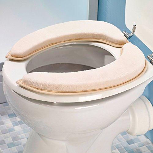 Wc-sitz Wärmer (Unbekannt WC-Sitz-Auflage Komfort, WC-Sitz Tolietten-Sitz Tolietten-Auflage Toliettensitzabdeckung Pad Wärmer Sitzbezug Wärmer Auflage-Matte)