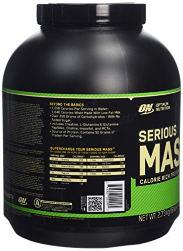Optimum Nutrition On Serious Mass Weight Gainer Review