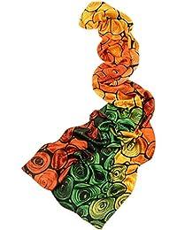 6d2160c993b Prettystern - longue écharpe foulard en soie de l art de la peinture