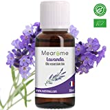 Lavanda Olio Essenziale Biologico • Aromaterapia Massaggi DIffusore • Puro e Naturale • 30 ML Mearome