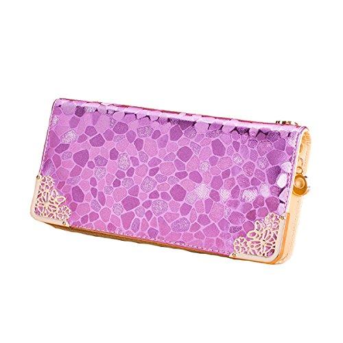 2pcs Modo Delle Signore Di Alta Qualità Frizione Multi-color Pink