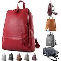 modamoda de - ital. Mochila de cuero Mochila para mujer Mochila Mochila Citybag Leather T138