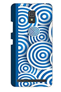AMAN Springs in Round 3D Back Cover for Lenovo A6600