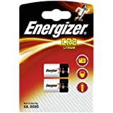 Energizer CR2–C2 Lot de 2 piles Photo Lithium