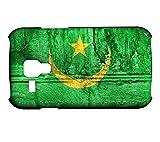 Schutzhülle für Samsung Galaxy S3 Mini Flagge MAURETANIEN 07