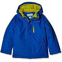Columbia Alpine Free Fal Chaqueta, Niños, Azul (Super Blue), M