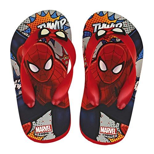 Marvel Flip Flops Boy Spiderman Avengers