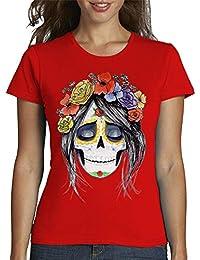 latostadora - Camiseta Catrina para Mujer