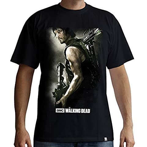 THE WALKING DEAD Tshirt Daryl Arbalète homme black (XL)
