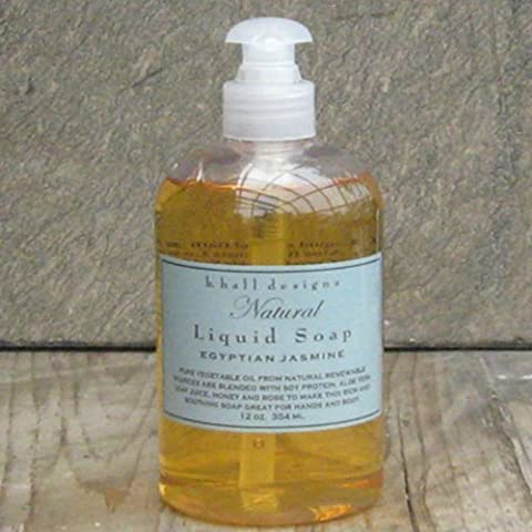 k. hall designs EGYPTIAN JASMINE Natural Liquid Soap 12 oz/345ml