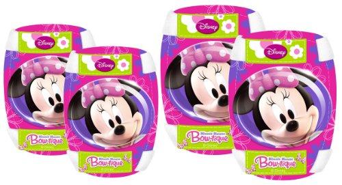 Preisvergleich Produktbild Stempel Disney Minnie Maus Ellenbogen und Knie Pads