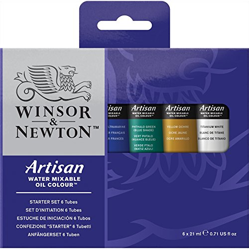Winsor & Newton Artisan Oil - Assortimento 6 Tubi 21ml