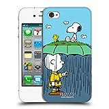 Head Case Designs Offizielle Peanuts Charlie, Snoppy & Woodstock Halbzeiten Und Gelächter Ruckseite Hülle für iPhone 4 / iPhone 4S