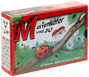 Adlung Spiele 11034 Marienkäfer und so - Juego de Cartas sobre Insectos