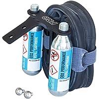 Pro CO2 Tubo de soporte de sillín para interior y botes bomba de bicicleta Presta Schrader