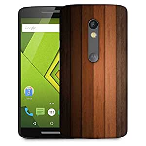 Snoogg Multicolor Wood Design Designer Protective Phone Back Case Cover For Moto G 3rd Generation