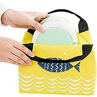 Preisvergleich für Vlunt Wasserdicht Isolierte Lunch Tasche Lunch Tasche für Frauen Kinder Lunch Box Tasche Tote Canvas Lunch Bag Isolierung Paket Tragbar