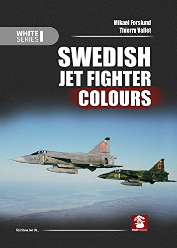 Swedish Jet Fighter Colours (White) por Mikael Forslund