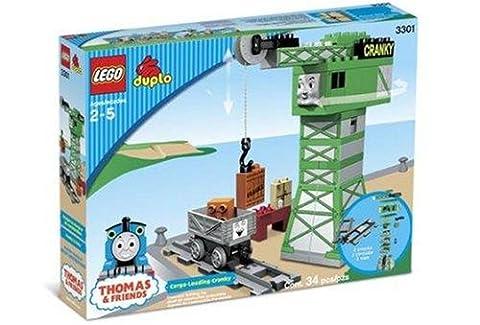 LEGO Duplo Lokomotive Thomas 3301 Cranky der Kran