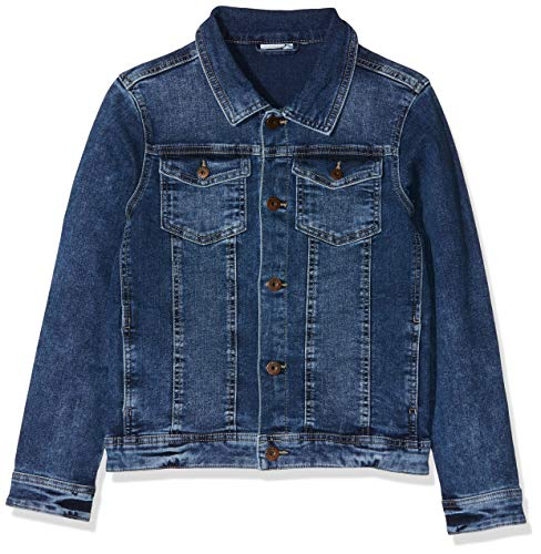 Name IT NOS Jungen Jacke NKMTYRION DNM Jacket 2196 NOOS, Blau (Medium Blue Denim), (Herstellergröße: 152)