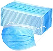 Disposable Face Mask 3Layers Air Pollution & Protection Mask, Nose Mask, Dust Mask, Surgical Mask With tie
