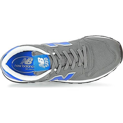 New Balance Gm500, Baskets Homme Gris / Bleu