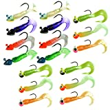 Best Rainbow ice pack - thkfish Fishing Jigs, 17Pcs Pack 7g/0.25oz 8g/0.28oz Fishing Review