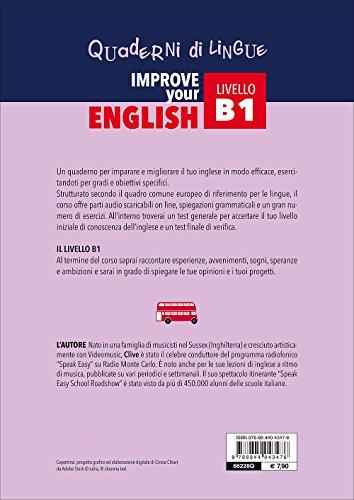 Zoom IMG-2 improve your english b1 con