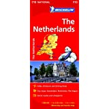The Netherlands NATIONAL Map (Michelin National Maps)
