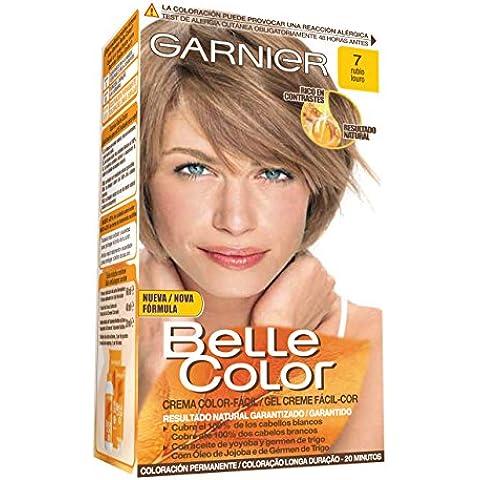 Garnier Coloración Belle Color Nº7 Rubio - 140 gr