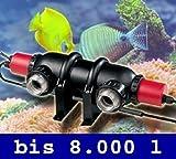 UVC-Entkeimer UV-Licht UVC-Brenner Wasserklärer Wasseraufbereitung Aquarium UV2-FBA