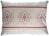 Dreams & Drapes Shantar Kissenbezüge, Blau, Polyester, Pink, 38x28 cm Filled Cushion