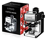LIVIVO ® Professional Espresso Cappuccino Coffee Maker Machine with Milk Frothing Arm for Home and Office