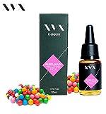XVX E-Liquid  Bubblegum Geschmack  Elektronisches Liquid Für E-Zigarette  Elektronische Shisha Liquid  10ml Flasche  Nadelspitze  Präzise Befllung  Wähle Deinen Lifestyle  Neu Für 2016  Digitaler Rauch  Nikotinfrei  Tabakfrei