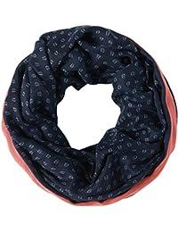 Tom Tailor Denim für Frauen Accessoire gemusterter Schlauch-Schal